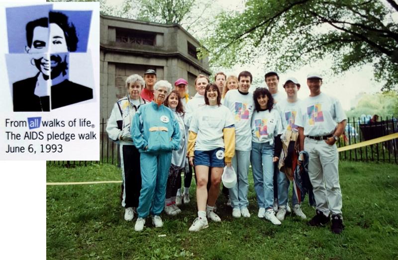 1993 AIDS Walk Poster 3